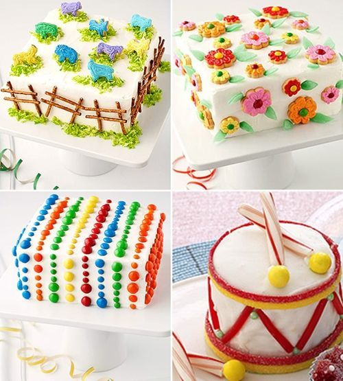 Ideas Para Decorar Tartas De Cumpleanos Glceados Para Decorar In - Ideas-para-decorar-una-tarta