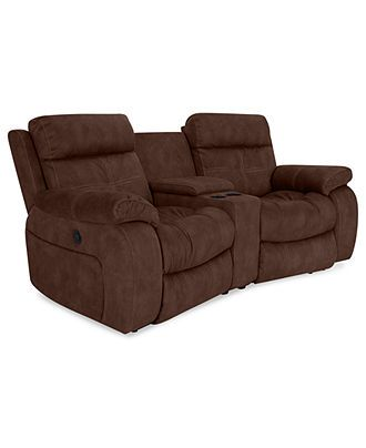 Justin Ii Fabric Reclining Sectional Sofa Walmart Convertible 3 Piece Power Recliner 2 Motion Recliners Console 85 W X 46 D 39 H Sofas