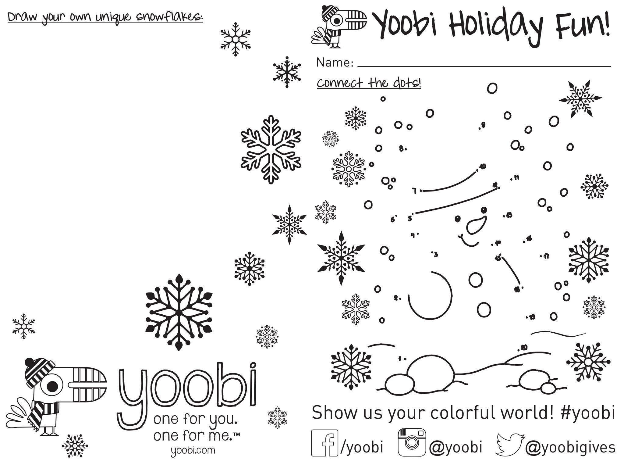 Holiday Activity Sheets | Yoobi | Downloadables | Pinterest | Holidays