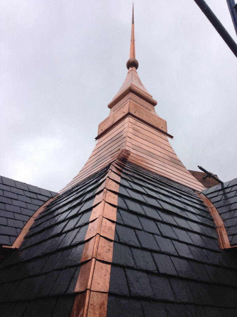 Pin By Ilya Tkachev On Roofs Architectural Shingles Roof Copper Roof Copper In Architecture