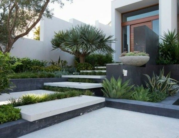 Stylish And Modern Garden Landscaping Ideas Small Front Yard