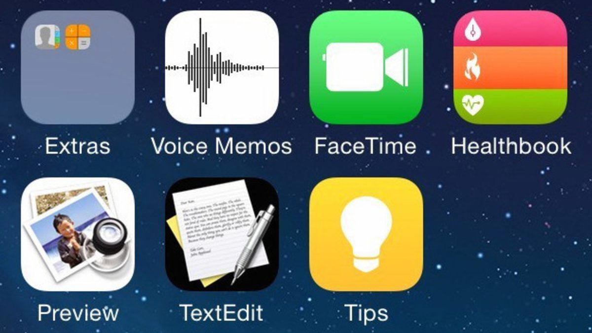 Alleged iOS 8 screenshots reveal Healthbook, TextEdit, and
