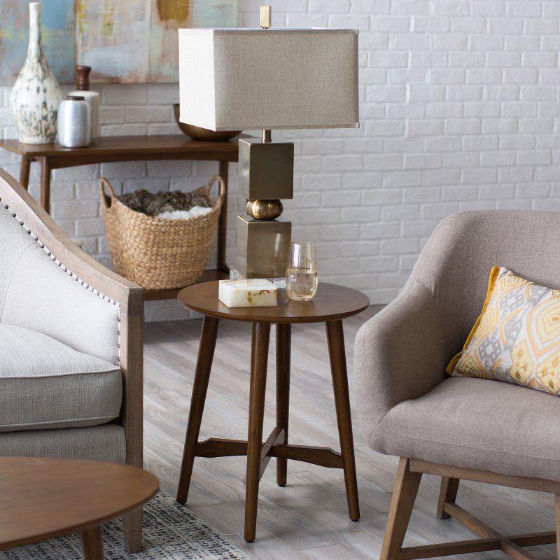 Prime Belham Living Darby Mid Century Modern End Table Dark Gamerscity Chair Design For Home Gamerscityorg