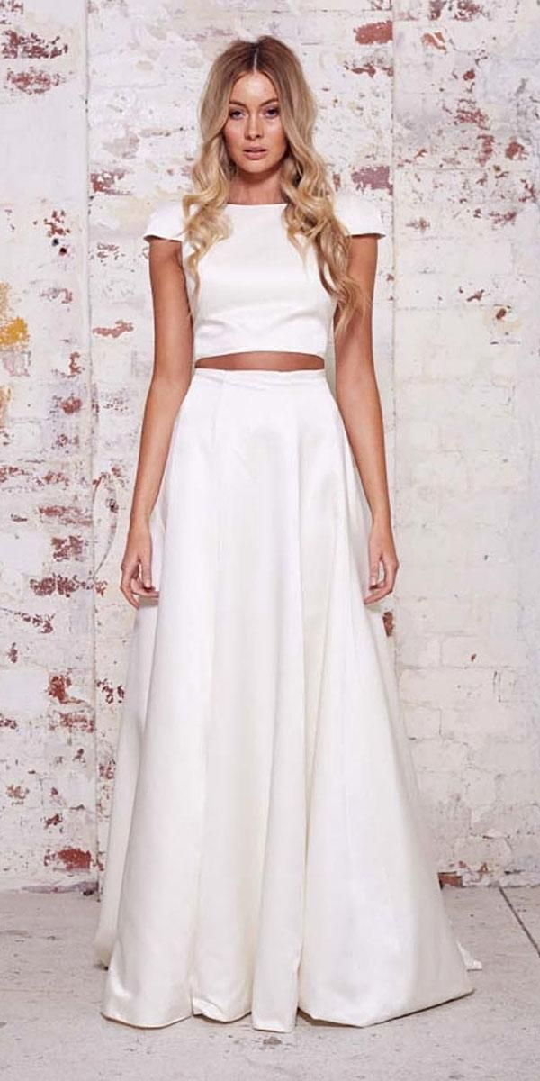 On Trend: 24 Bridal Separates – Breaking The Rules | Wedding Forward