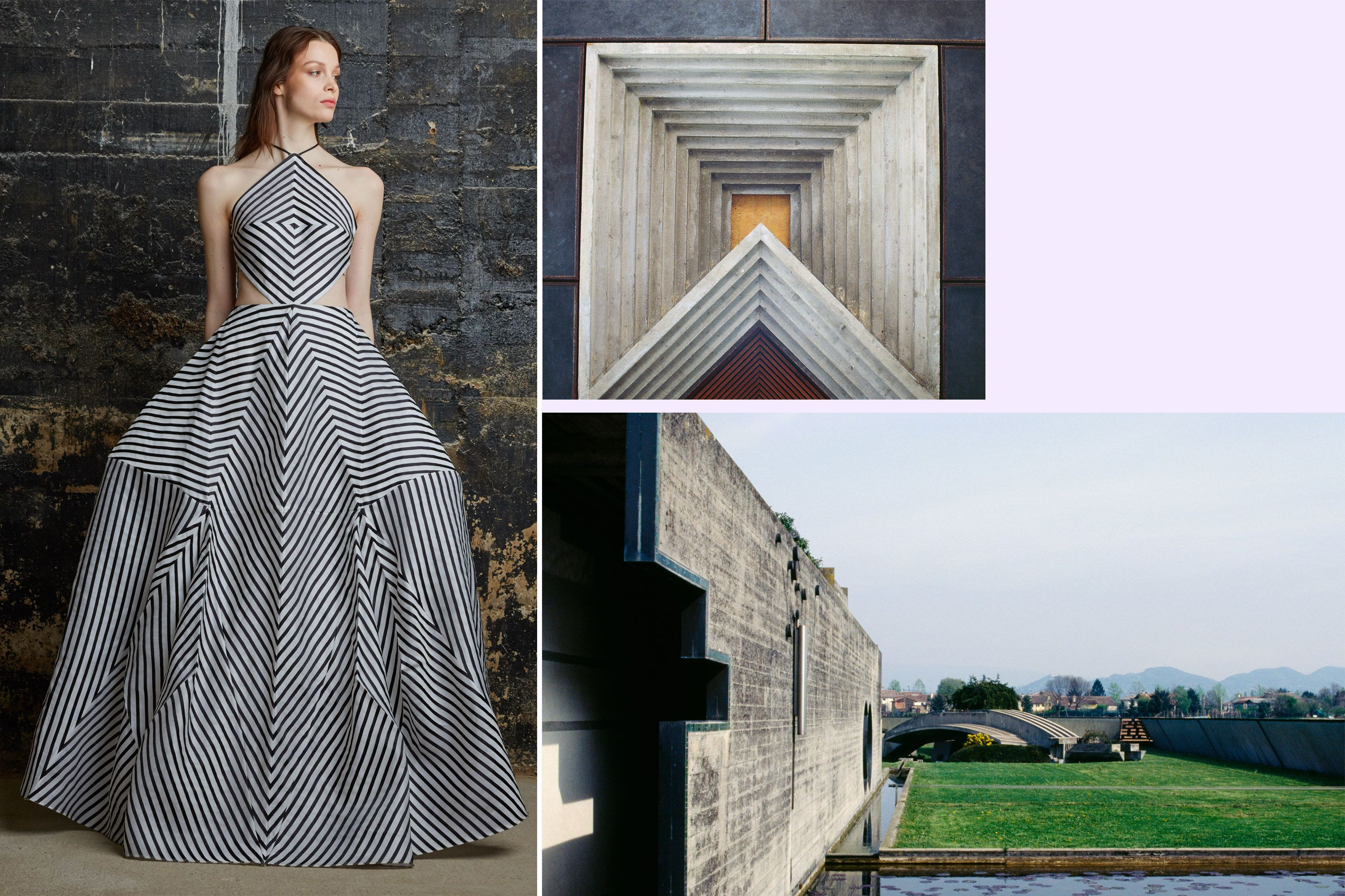 9 Fashion Designers Tell Ad How They Are Inspired By Architecture Architectural Clothing Architecture Fashion Fashion Design