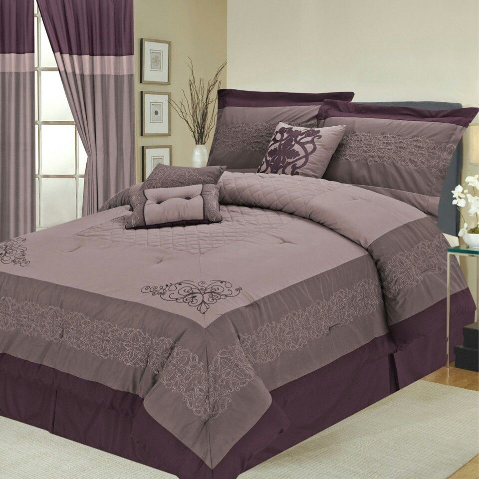 Cute Purple Bed Set For The Home Pinterest Purple Bedding
