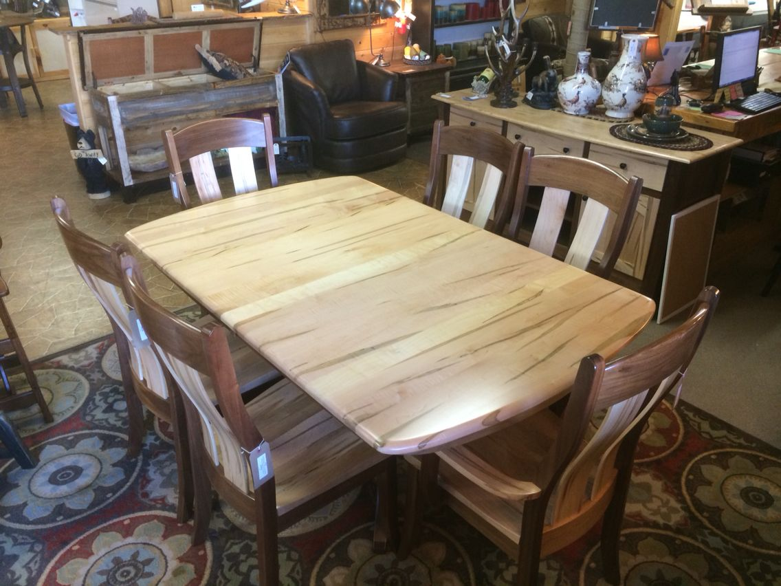 Our Wormy Maple Dining Table Is Builtamish Craftsmen Using Gorgeous Maple Dining Room Table Review
