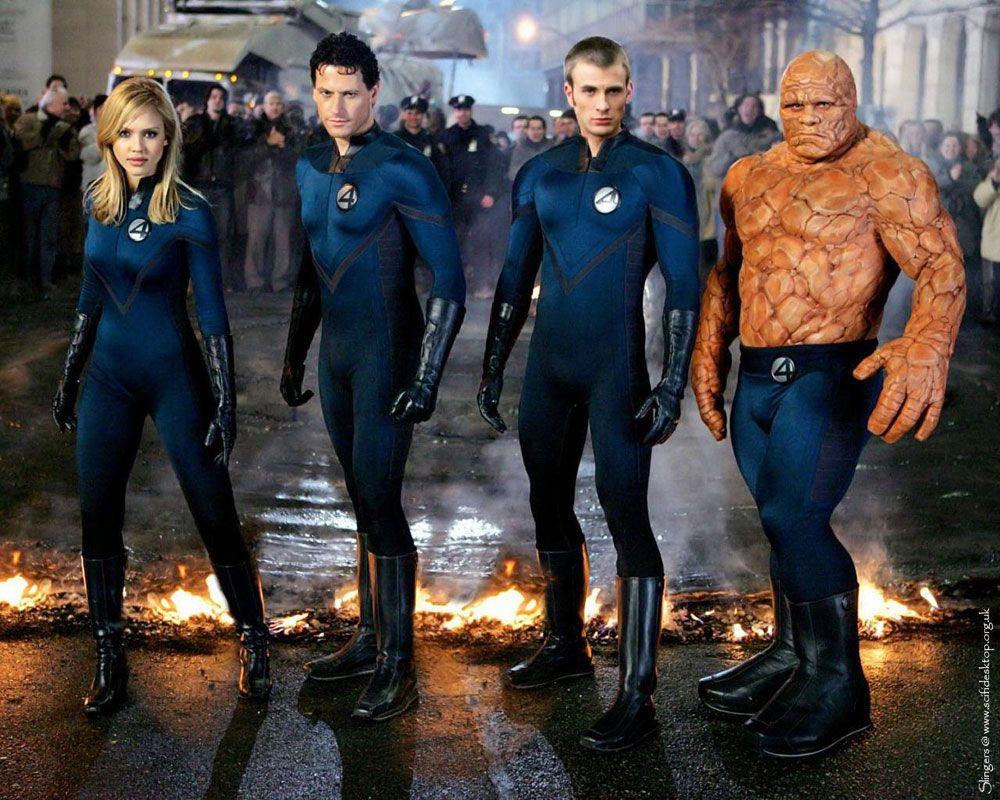 Fantastic Four: Invisible Woman (Jessica Alba) / Mr Fantastic (Ioan Gruffudd)…
