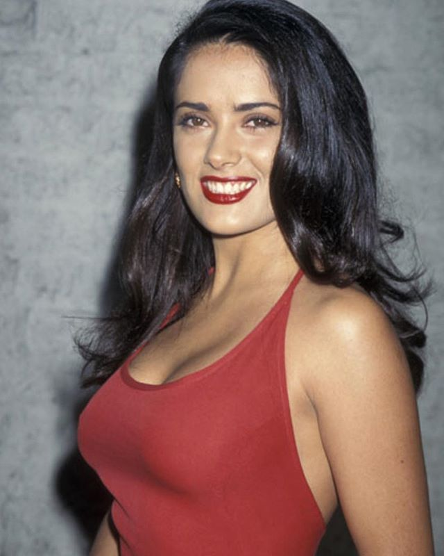 Salma hayek hot young amusing phrase