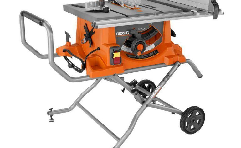 Ridgid R4513 Portable Table Saw Is One Of The Best 10 Portable