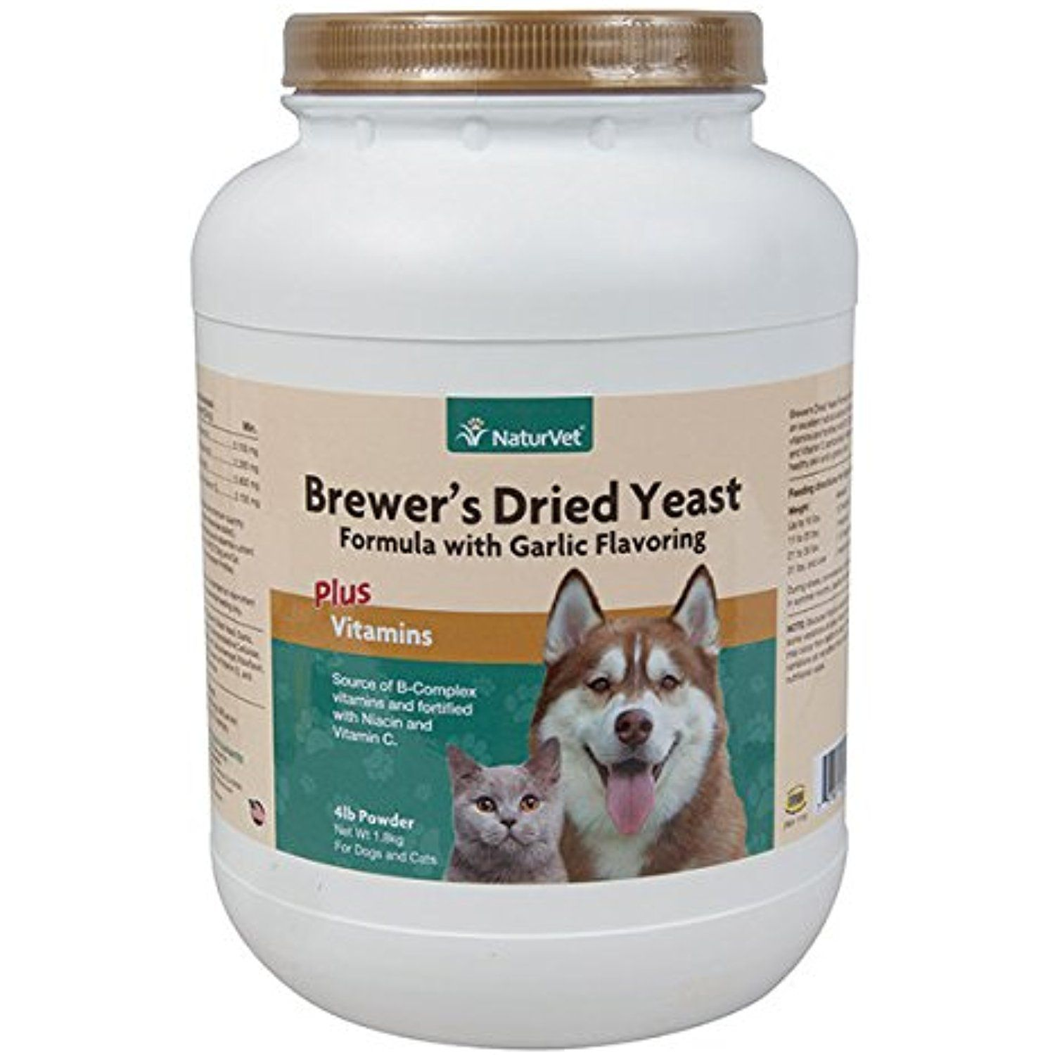 Brewers Yeast Fortified With Garlic 4 Pounds Powder To Have More Info Could Be Found At The Image Url This Is Brewers Yeast Dry Yeast Vitamin C For Dogs
