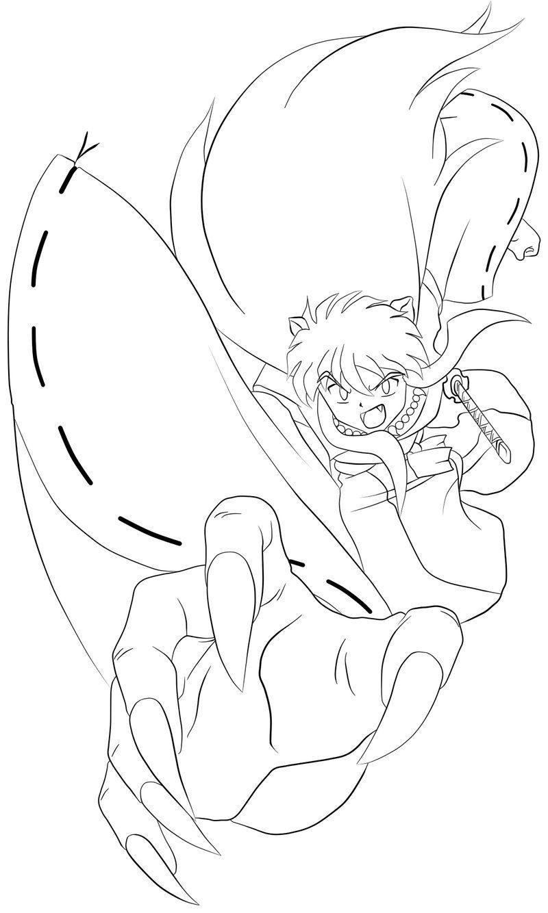 inuyasha coloring book  anime&manga stuffs  inuyasha