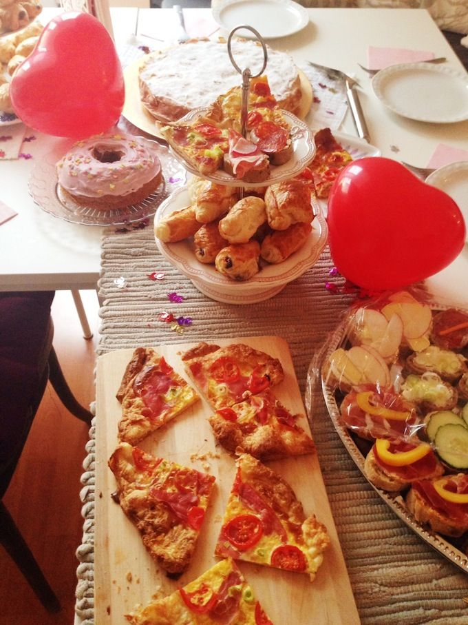 nice birthday tea party