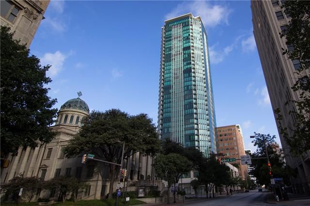 The Tower Condos Located At 500 Throckmorton In Downtown