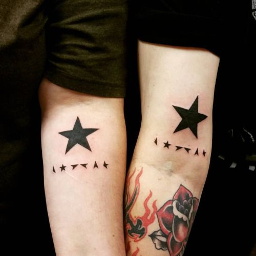 David bowie tattoos pesquisa google bowie pinterest for Bowie tattoo ideas