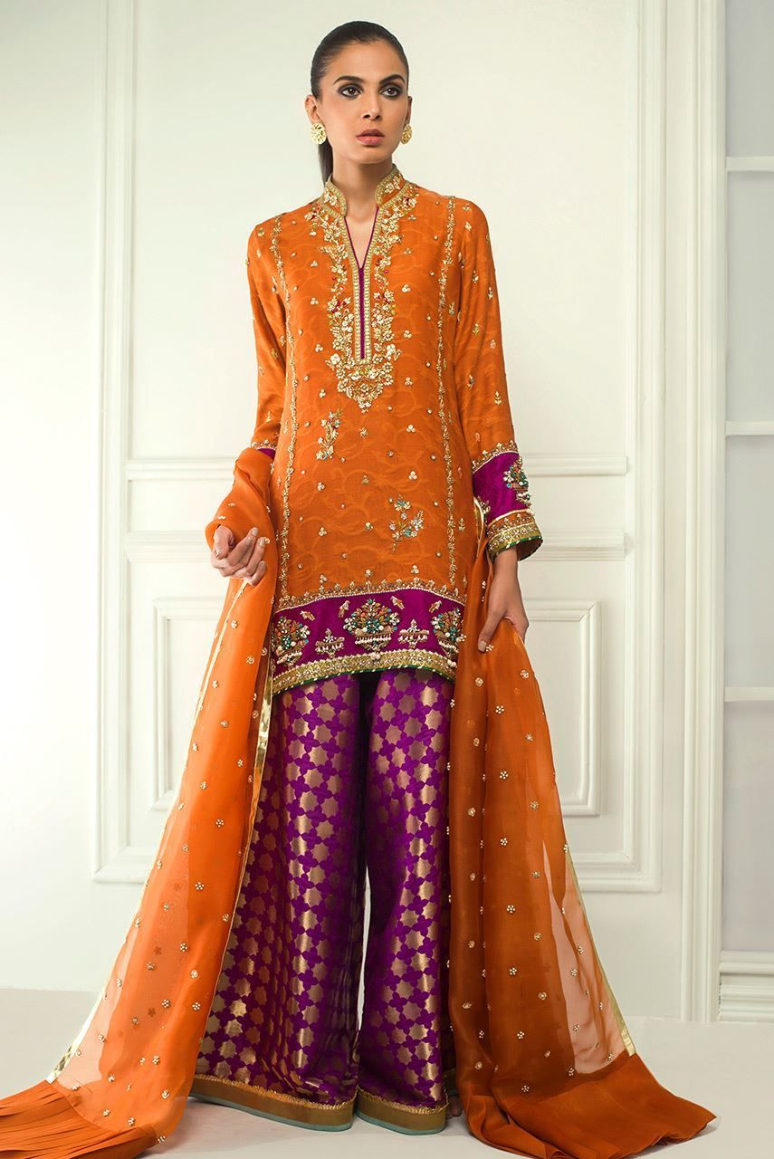 c82640ac50 Brocade dhaka pajama Pakistani Formal Dresses, Semi Formal Dresses, Formal  Suits, Formal Wear