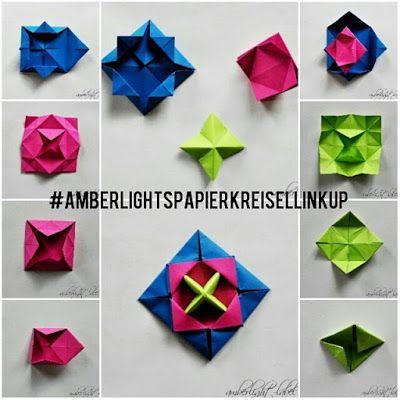 kindergeburtstag basteln origami papierkreisel kreisel falten makotokoma spinning top anleitung. Black Bedroom Furniture Sets. Home Design Ideas