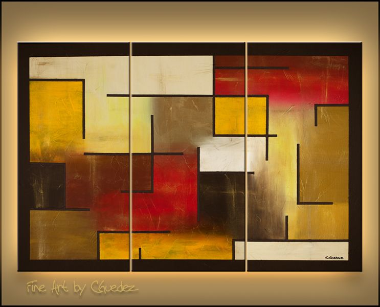abstract paintings | Shapes and colors for projections | Pinterest ...