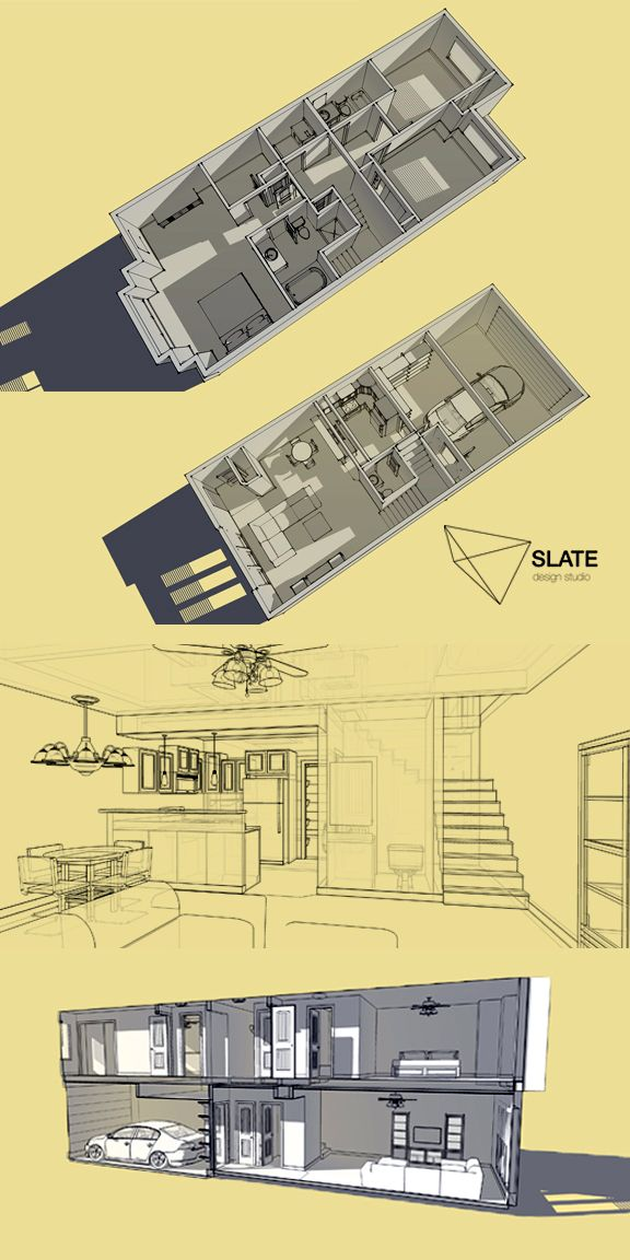 3D modeling, illustration, architecture