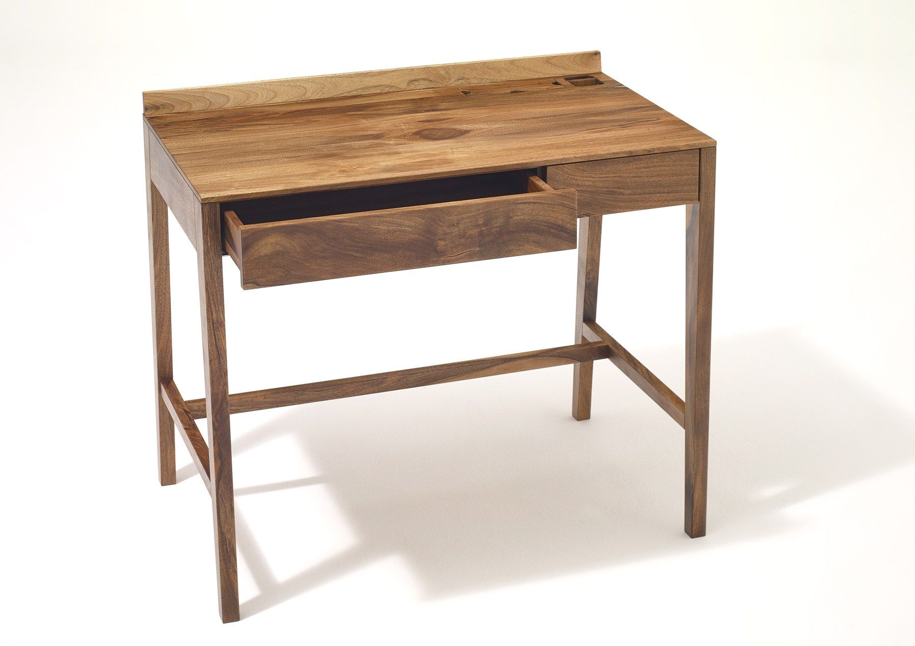 Theo Light Desk Solid Wood Writing Desk By Sixay Furniture With