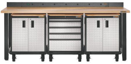 Superb Gladiator Garageworks 8 Ft Modular Workbench Hammered Uwap Interior Chair Design Uwaporg