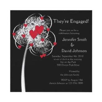 Fireworks & Hearts Tree Engagement Announcement