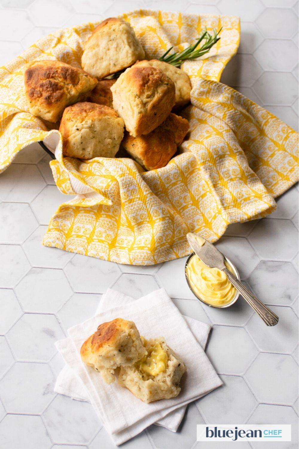 Lemon Rosemary Biscuits Blue Jean Chef Meredith Laurence Recipe In 2020 Recipes Homemade Buttermilk Biscuits Lemon Recipes