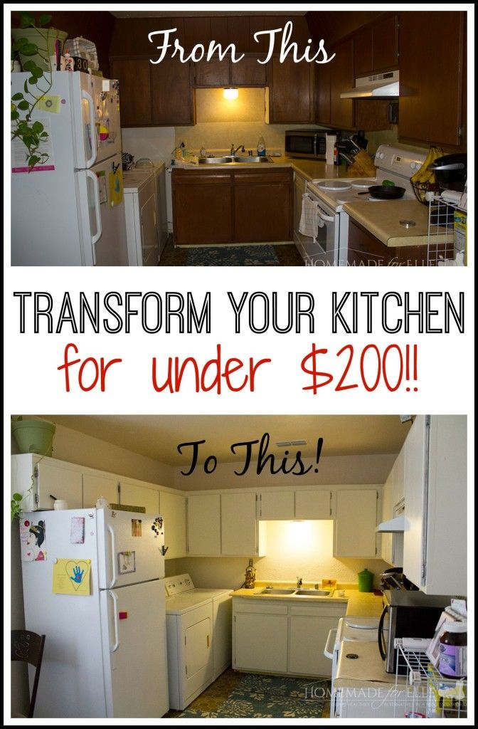 Paint Cabinets without Sanding | Kitchen cupboards, Cupboard ...
