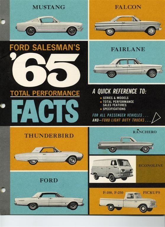 Old Car Brochure Go Go Pinterest Cars, Ford and Car brochure