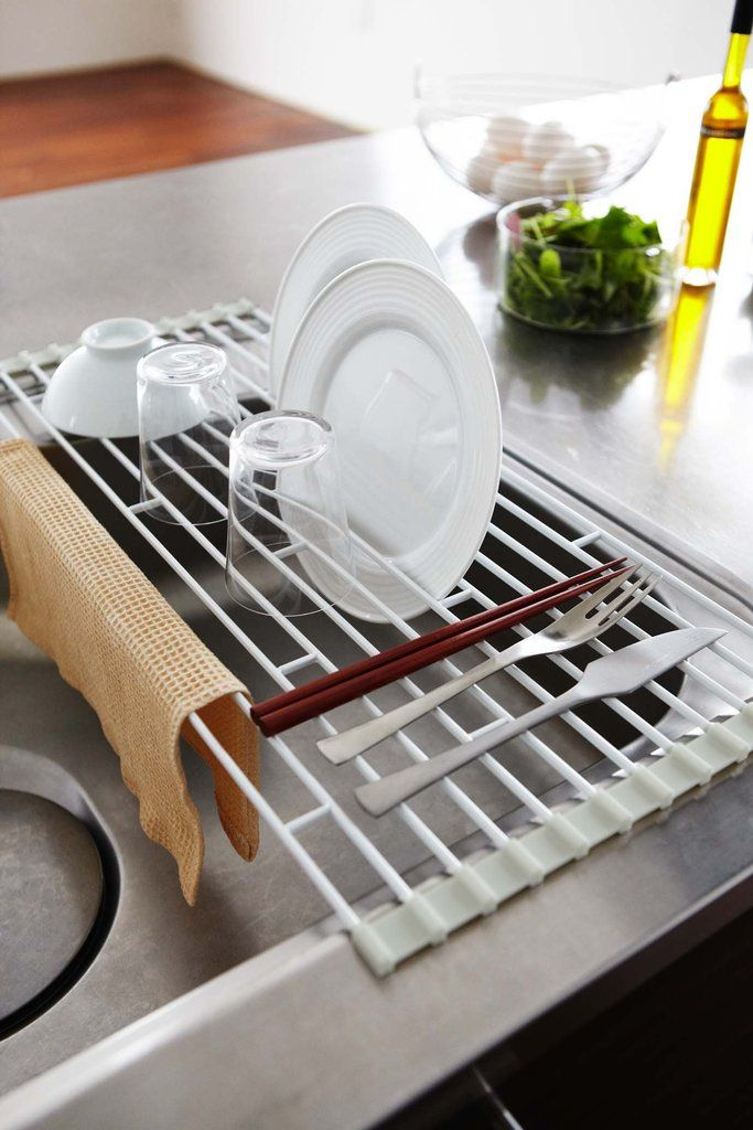 Plate Over The Sink Folding Drying Rack In Various Sizes