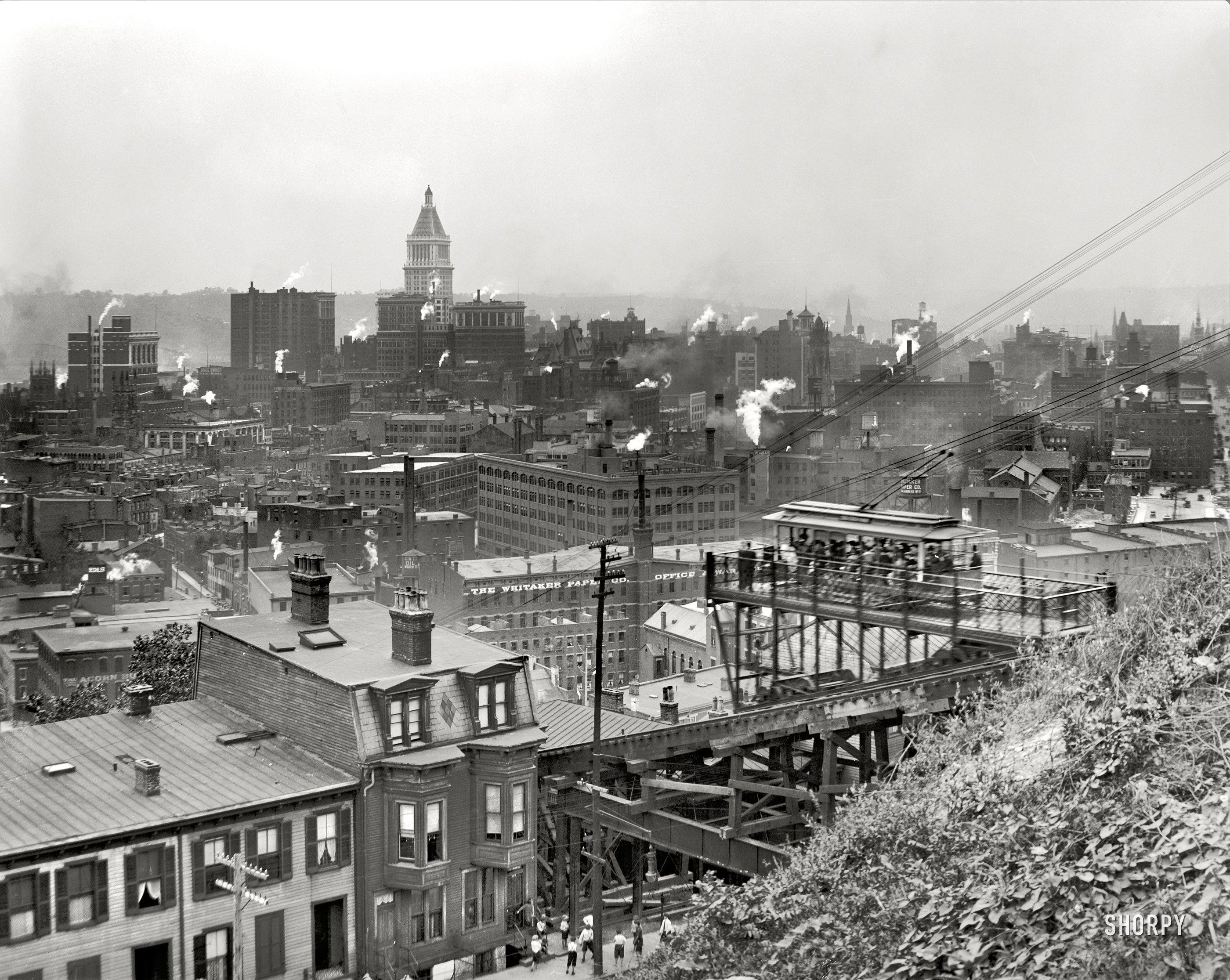Shorpy Historic Picture Archive Cincinnati 1915 High