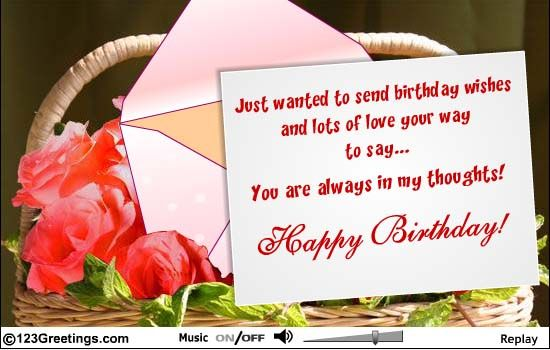 Birthday Cards To Send ~ Happy birthday in heaven i miss you and love you my beautiful n