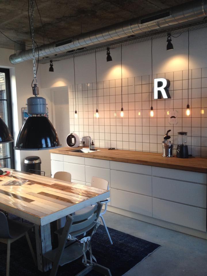 Wat een prachtige industri le keuken van fan youri de haas pin jouw favoriete plekje gebruik - Keuken industriele loft ...