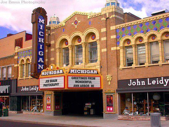 Ann Arbor S Michigan Theater Combines Living History With A Singular Dedication Ann Arbor Michigan Ann Arbor Michigan