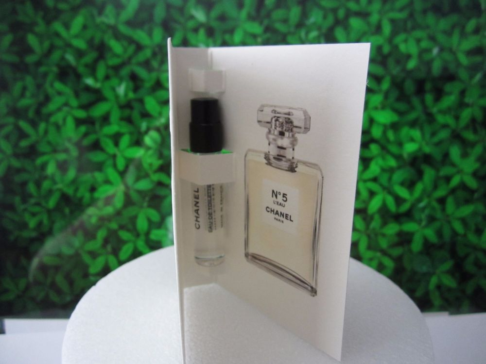 b32ee788 Details about 2 x Chanel No 5 L'EAU Perfume EDT Spray Samples Vials ...