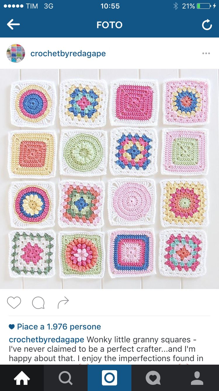 Fabulous Granny Squares - lovely colours