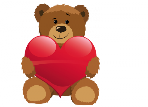 Pin By Rubi C L On Objetos Para Decorar Teddy Bear Images Cartoon Clip Art Red Teddy Bear