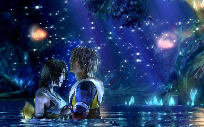 Final Fantasy Wallpaper 3D