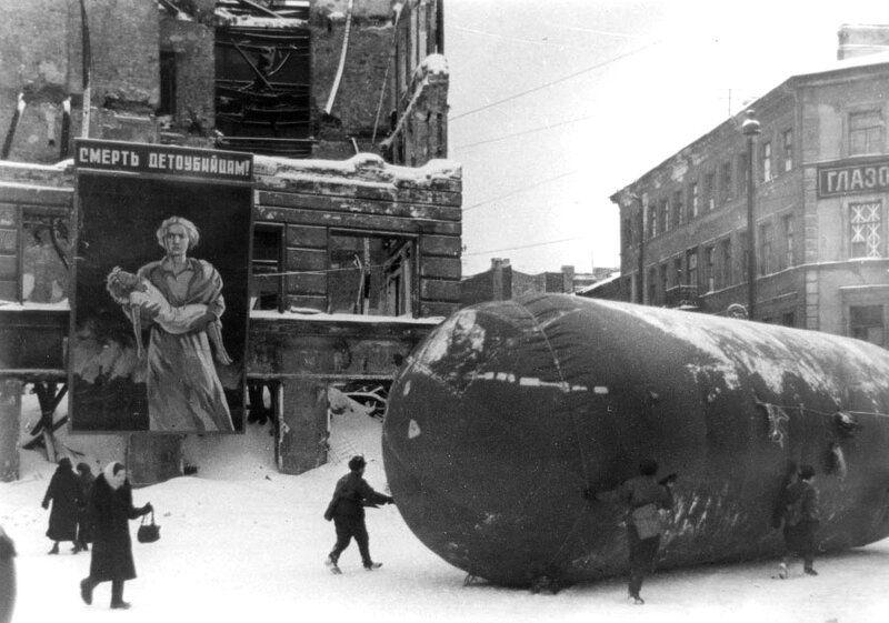 "Photo from album ""Блокадный Ленинград"" on   Война"