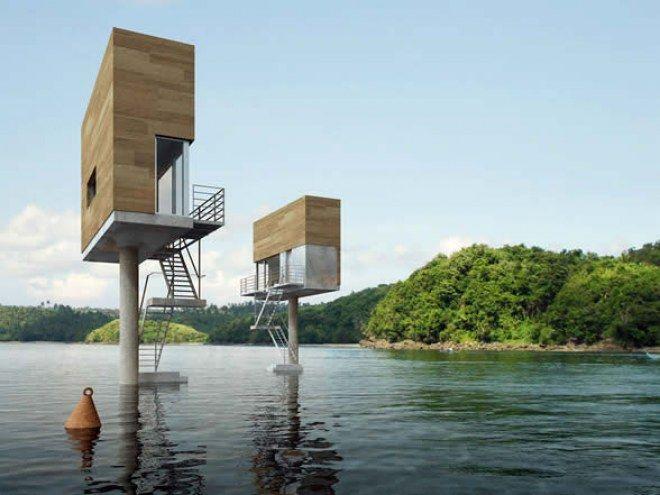 Hogares en formato mini las casas m s peque as del mundo for Mini casa minimalista