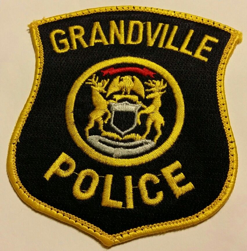 Grandville police Police, Police patches, Military police