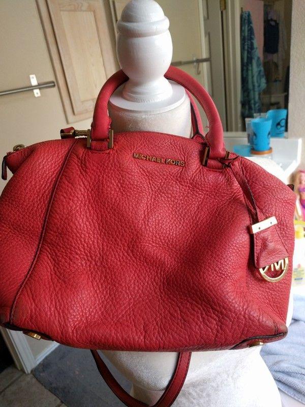 3e6f211e559ef6 MK Salmon color crossbody Satchel Bag | My Posh Closet | Bags ...