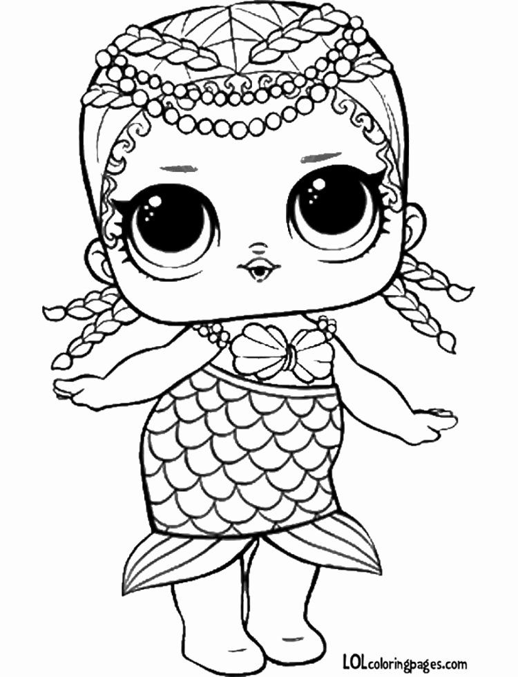 Lol Doll Coloring Page Luxury Lol Suprise Doll Coloring Pages Unicorn Coloring Pages Mermaid Coloring Pages Cartoon Coloring Pages