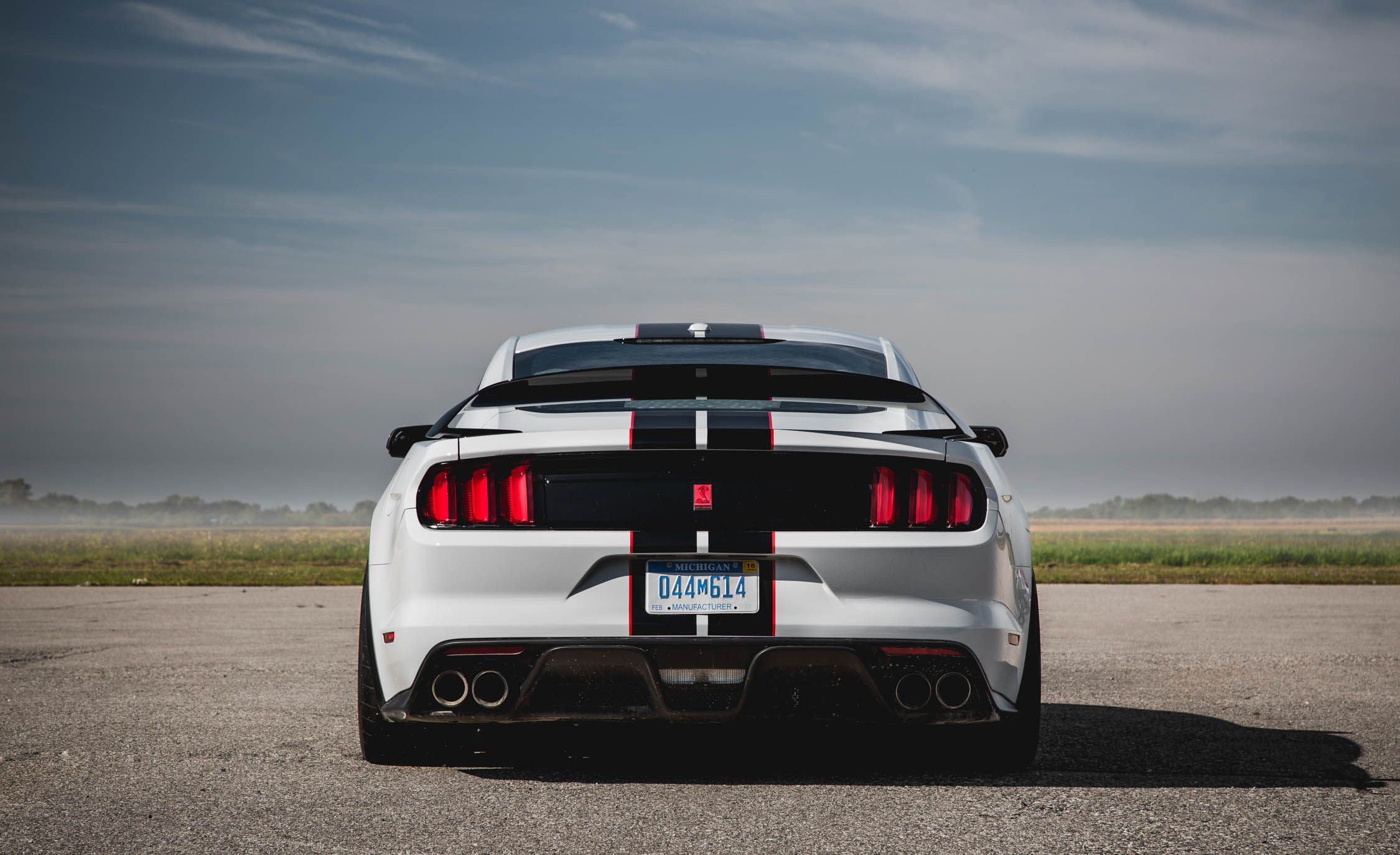 2016 ford mustang shelby gt350r exterior rear view 7858 cars performance reviews