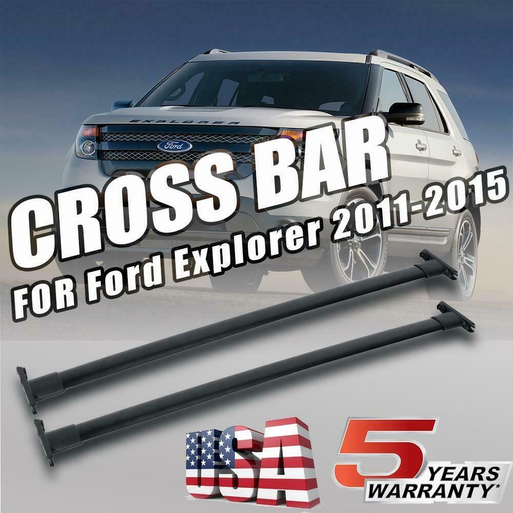 Ebay Sponsored Roof Rack Cross Bar Luggage Carrier For 2011 2012 2013 2014 2015 Ford Explorer Ford Explorer Luggage Carrier Roof Rack