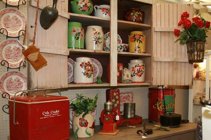 Great grouping of painting pottery