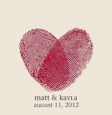 simple save the dates. Cute :)