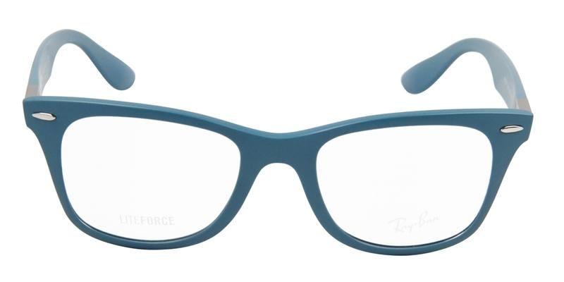 1c5d5b27cd9c Ray-Ban Unisex RB7034 Blue   Clear Lens EyeGlasses
