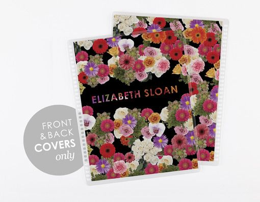 7x9 covers -floral Erin Condren life planner