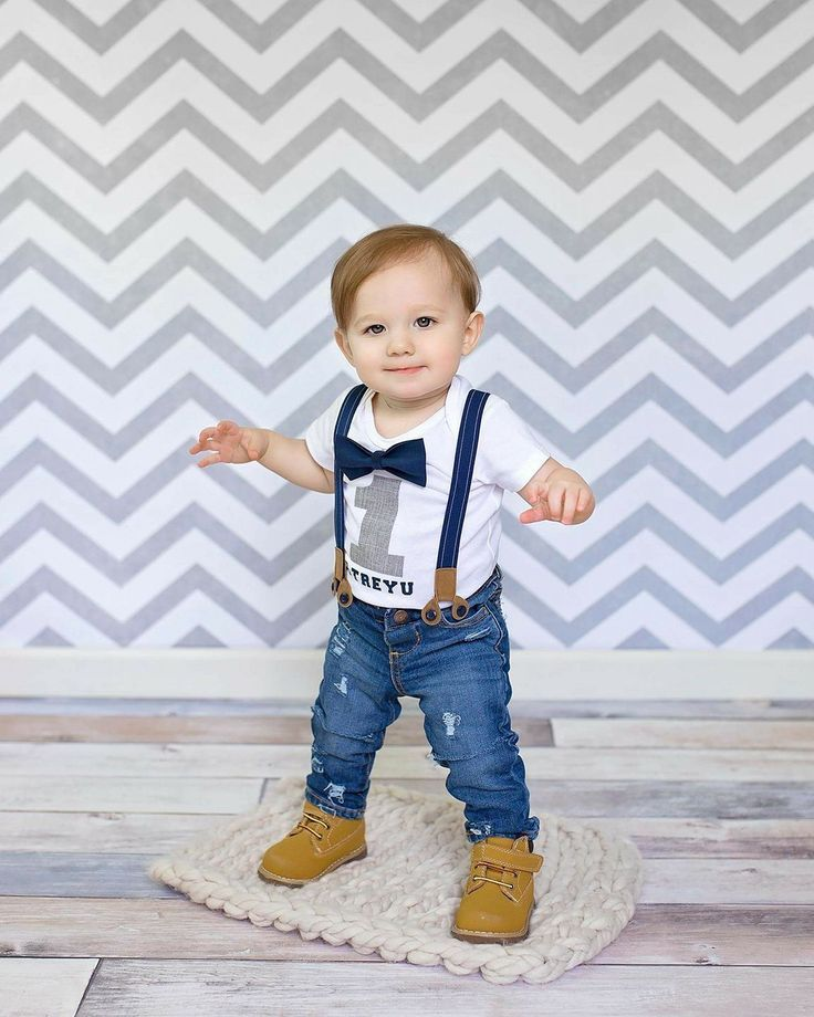 Baby Fitz Suspender Set Baby Boy Outfit First Birthday Outfit | Birthday photos Suspenders ...